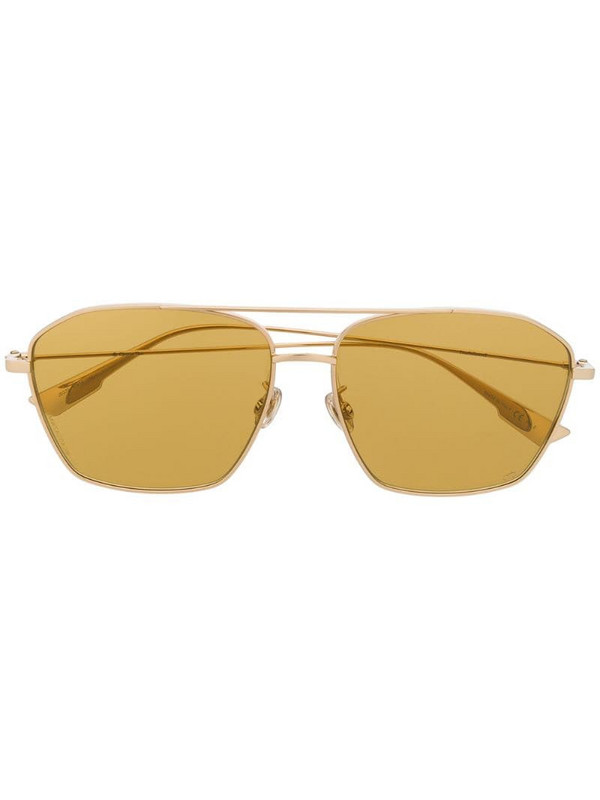 Dior Eyewear Stella Aire square-frame sunglasses in gold