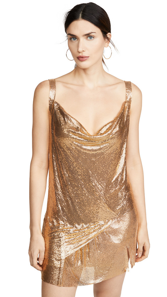 Misha Collection Kristelle Dress in gold
