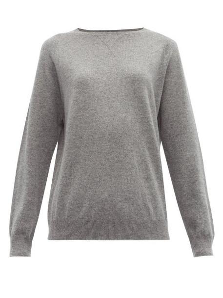 Max Mara Leisure - Polka Sweatshirt - Womens - Grey