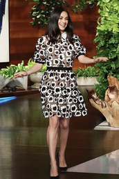 dress,mila kunis,celebrity,black and white