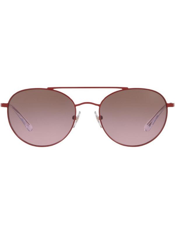Vogue Eyewear aviator sunglasses in red