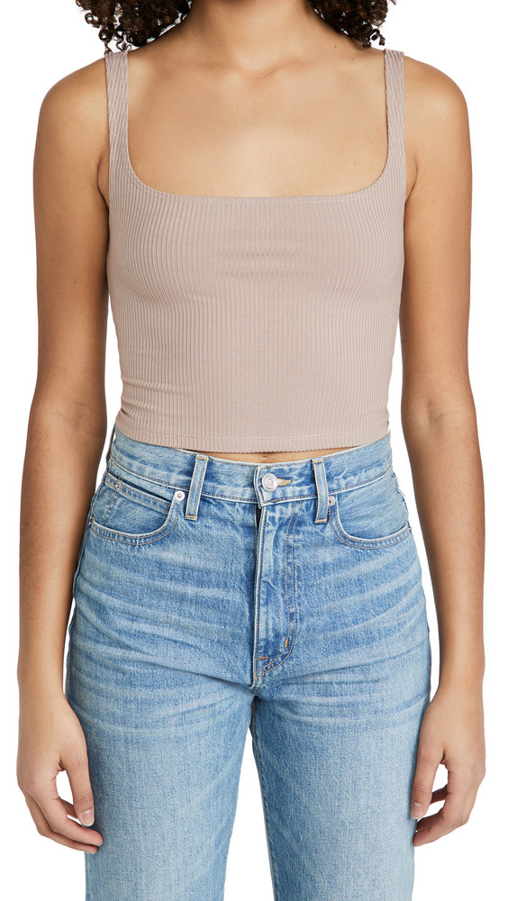 Reformation Broome Tank in sand