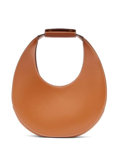 Staud - Moon Small Leather Shoulder Bag - Womens - Tan