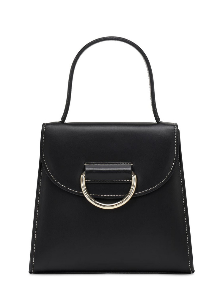 LITTLE LIFFNER Little Lady Leather Top Handle Bag in black
