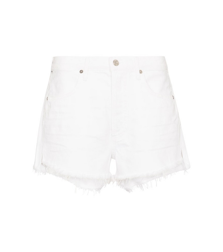 Citizens of Humanity Annabelle denim shorts in white