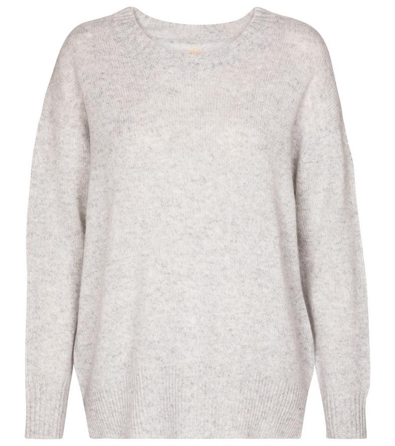 Jardin des Orangers Cashmere sweater in grey
