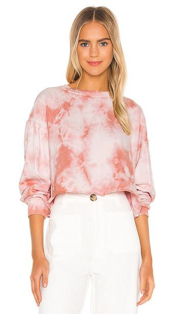 STRUT-THIS Sonoma Sweatshirt in Pink