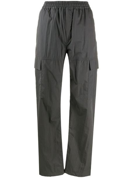 Filippa K Sheila straight cargo trousers in grey