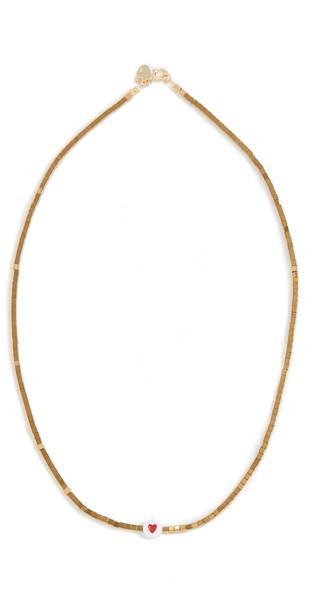 Maison Monik Heart Necklace in gold