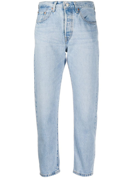 Levi's straight-leg jeans in blue