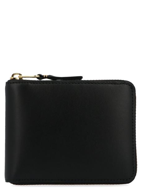 Comme Des Garçons classic Leather Line Pouch in black