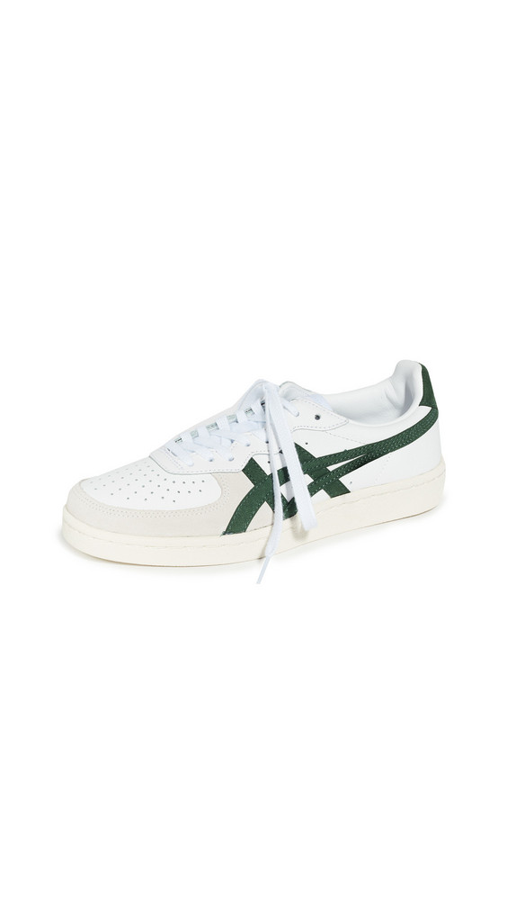 Onitsuka Tiger GSM Sneakers in green / white
