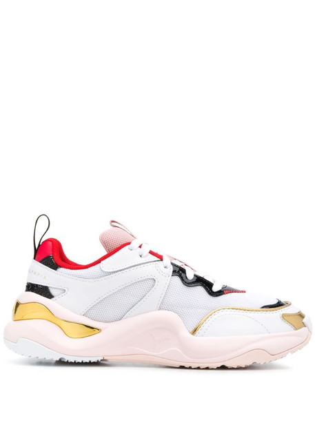 Puma x Charlotte Olympia Rise low-top sneakers in white