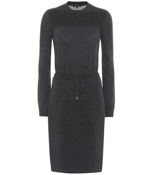 Loro Piana Cashmere knit dress in grey