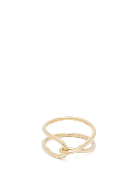 Fay Andrada - Moni Twisted Ring - Womens - Gold