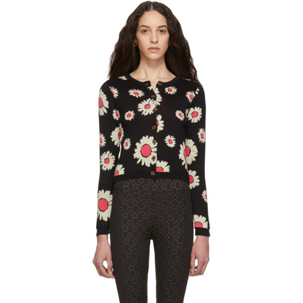 Molly Goddard Black Malina Cardigan