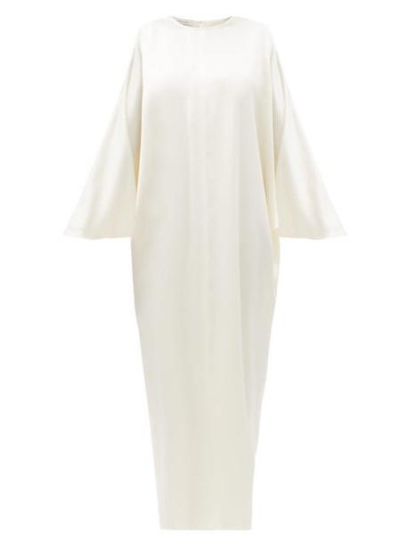 La Collection - Epione Silk-charmeuse Maxi Dress - Womens - Ivory