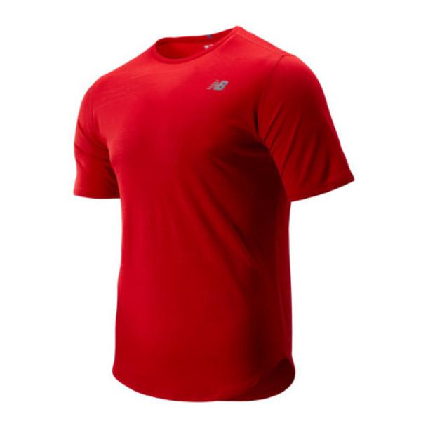New Balance 93250 Men's Q Speed Breathe Short Sleeve - Red (MT93250REP)