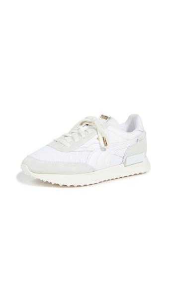 PUMA Future Rider Luxe Sneakers in white