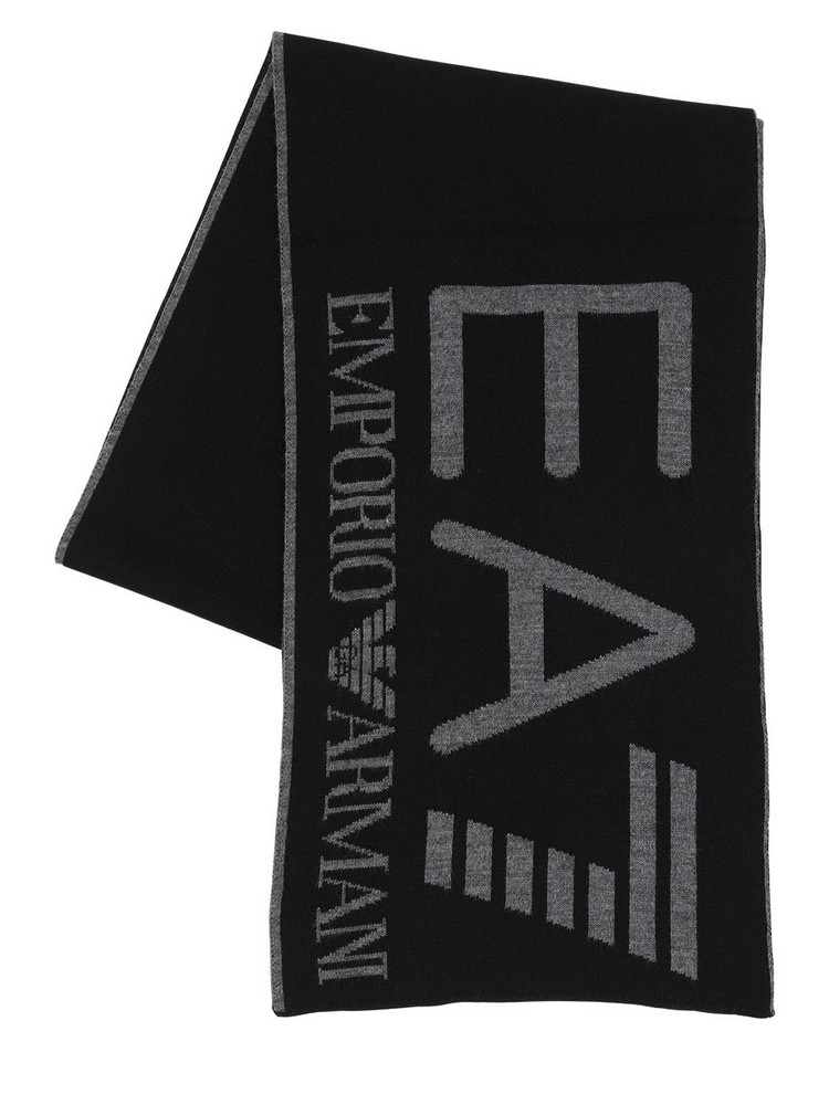 EA7 EMPORIO ARMANI Train Visibility Scarf in black