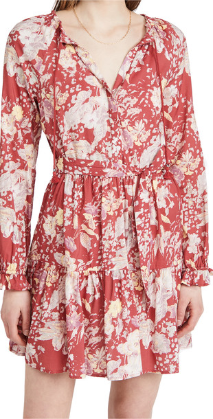 PAIGE Evanne Dress in red / multi