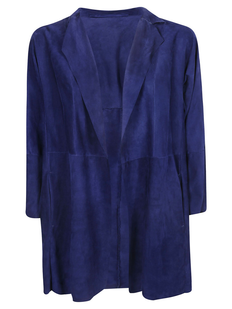 Salvatore Santoro Draped Jacket in blue