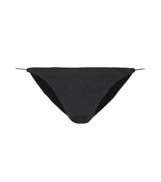 Jade Swim Micro Bare Minimum bikini bottoms in black