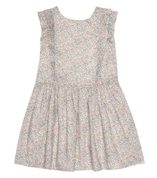 Tartine et Chocolat Liberty-print cotton pinafore dress