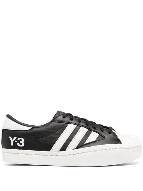 Y-3 low-top sneakers in black
