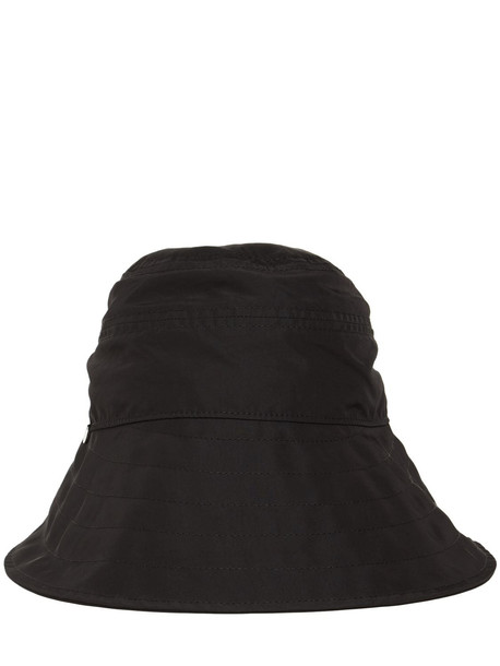 THE ATTICO Nylon Bucket Hat in black