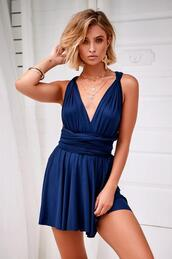 dress,navy,mini dress,strechy,cocktail dress
