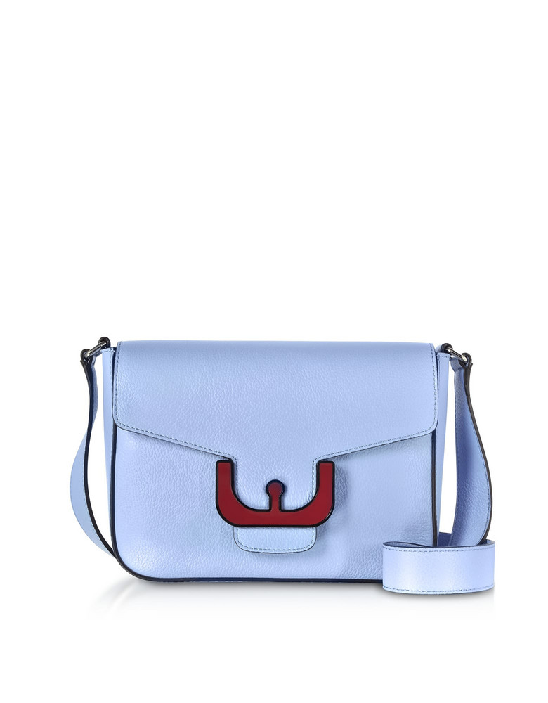 Coccinelle Ambrine Leather Crossbody Bag in lilac