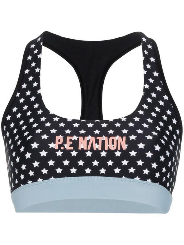 P.E Nation Dominion sports bra in black