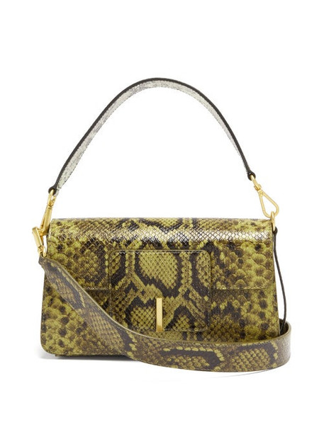 Wandler - Georgia Python-effect Leather Shoulder Bag - Womens - Python