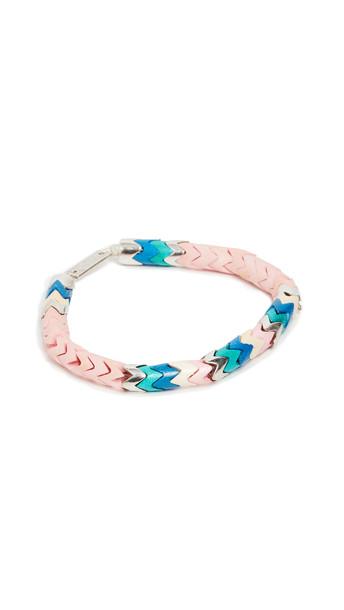 Isabel Marant Beaded Bracelet in pink