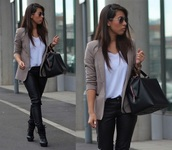 jacket,blazer,office outfits,grey jacket,classy,work outfits,grey