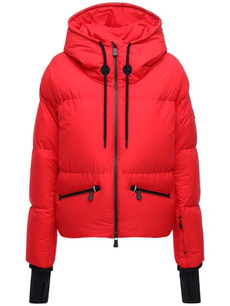 MONCLER GRENOBLE Allesaz Down Jacket in red