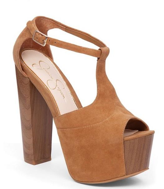 shorts brown tan heels high heels heels on gasoline cute high heels peep toe heels platform heels thick heel high heel pumps heel shoes