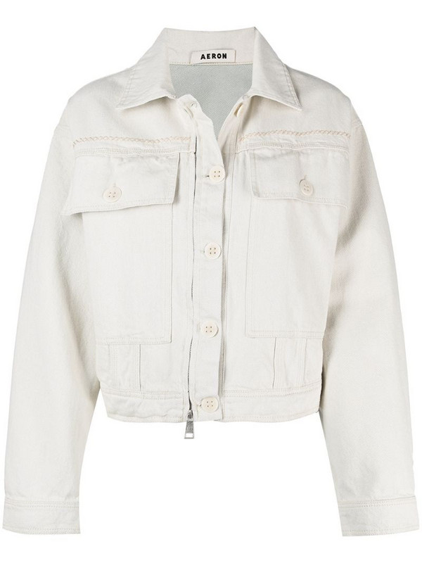 Aeron Martha denim jacket in white