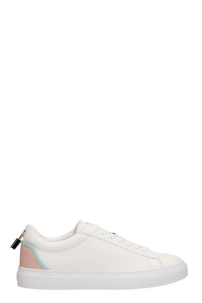 Buscemi Tennis Lock Sneakers in white
