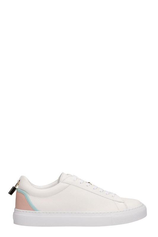 Buscemi Tennis Lock Sneakers in white