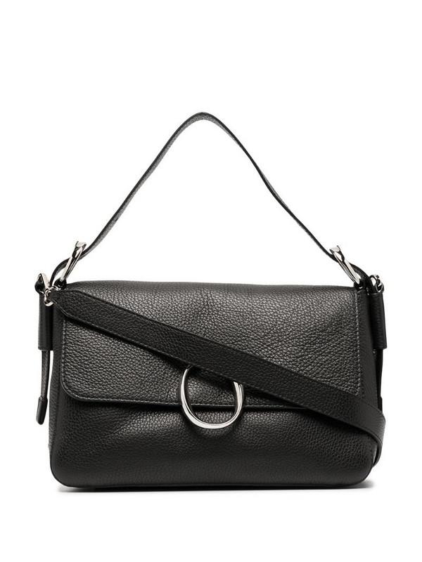 Orciani Soho Diamond shoulder bag in black