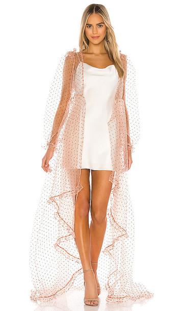 Selkie The Morningglory Kimono Dress in Pink