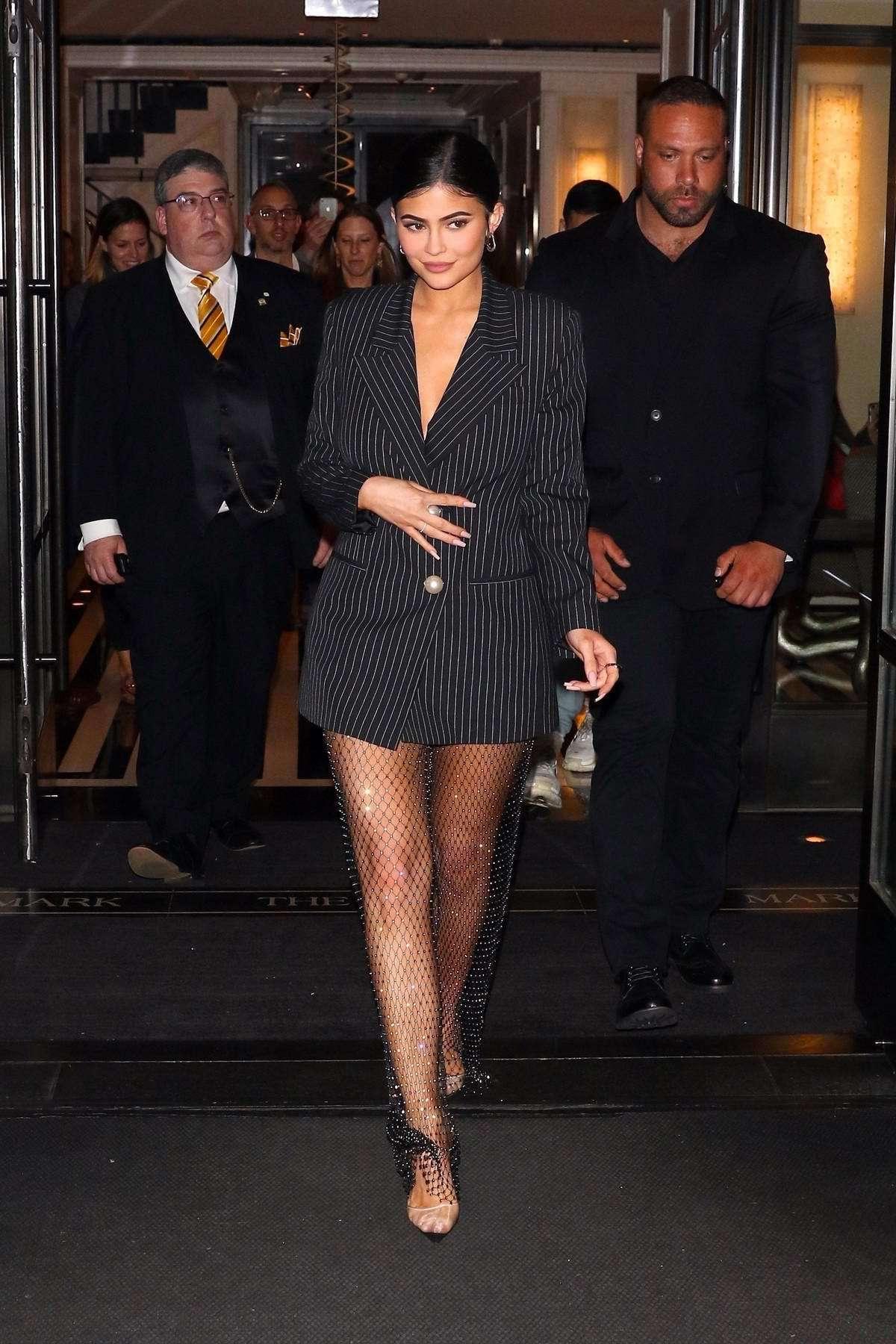 shoes kylie jenner kardashians celebrity sheer pants blazer black blazer