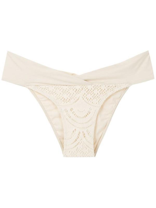 Track & Field Renda bikini bottom in white