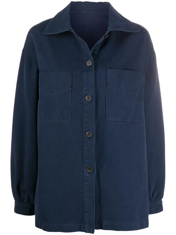 Raquel Allegra Explorer jacket in blue