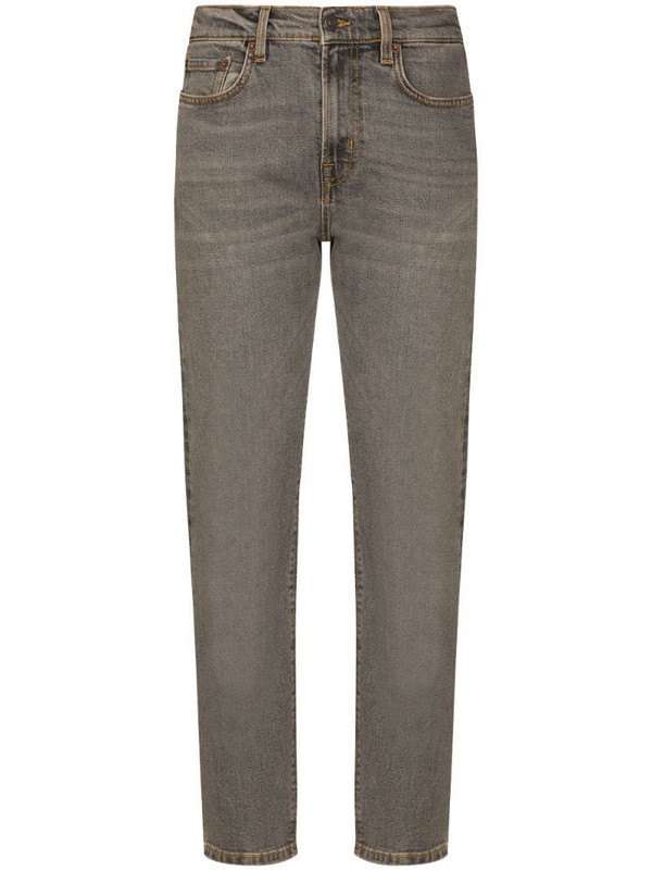 Jeanerica straight-leg jeans in grey