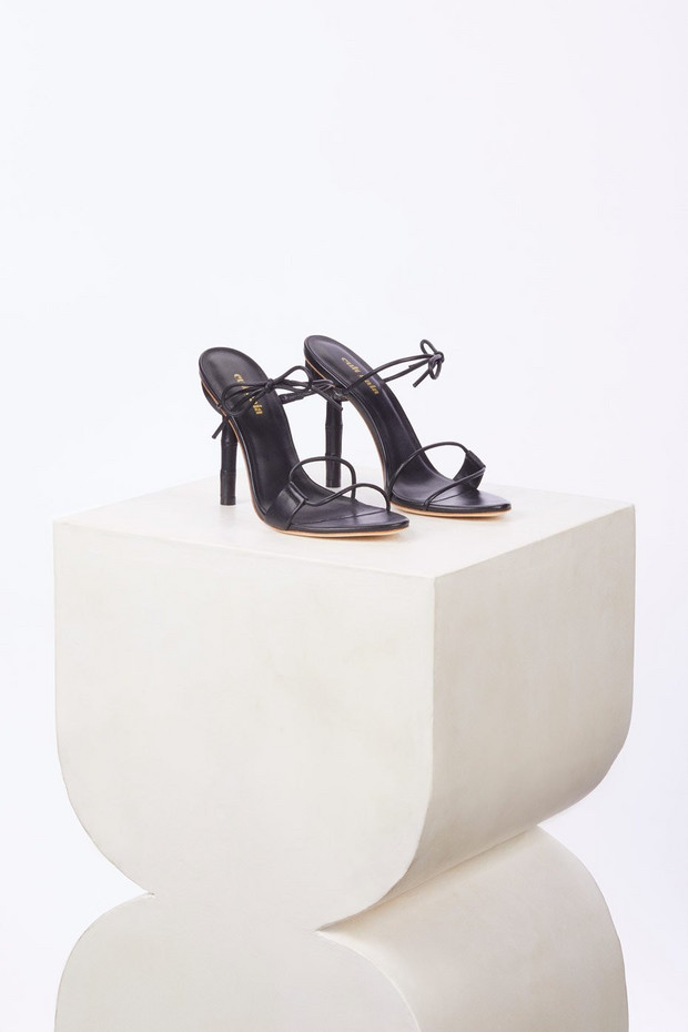 Cult Gaia Malia Heel - Black                                                                                               $388.00