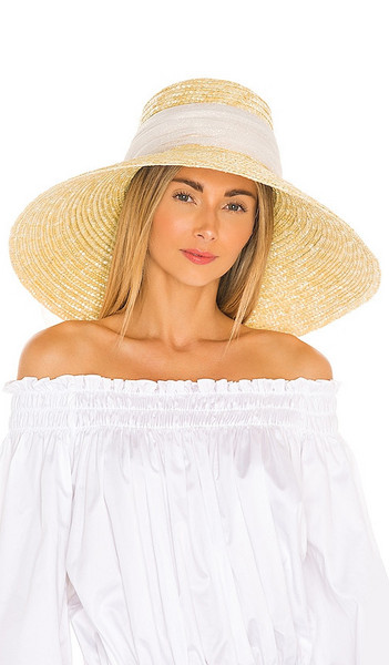 Eugenia Kim Mirabel Hat in Beige in natural