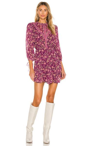 Tularosa Hopper Dress in Purple in plum